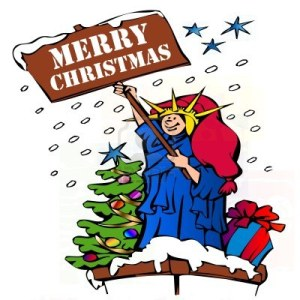 8109387-statue-of-liberty-saying-merry-christmas