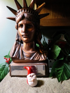 2104 Santa Gnome with Liberty
