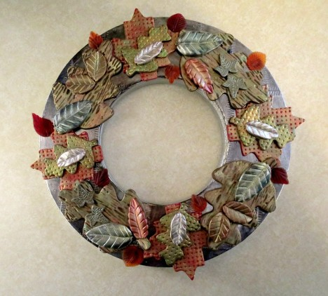 2015 Leaf Wreath