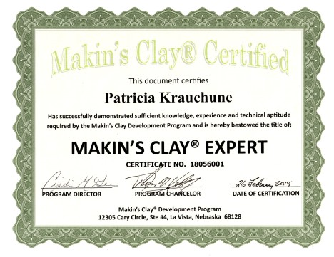 2018 Makins Clay Expert125